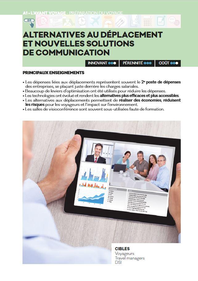 1 ALTERNATIVES AU DÉPLACEMENT - Livre blanc 2016 - AFTM