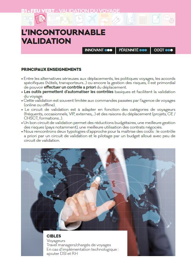 Incontournable validation - Livre blanc 2016 - AFTM