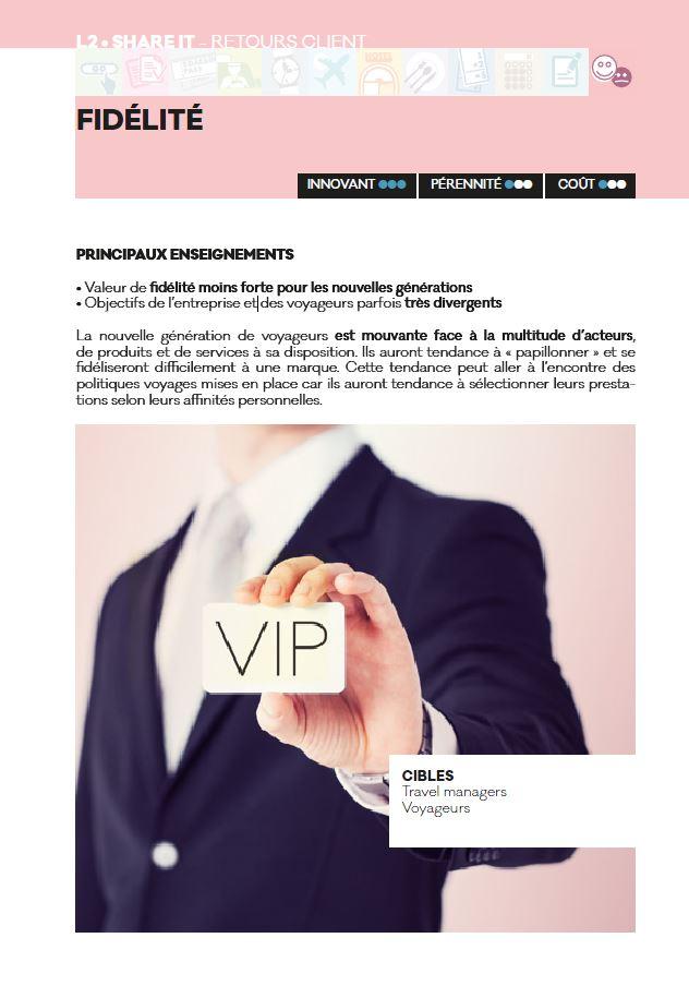 fidélité - Livre blanc 2016 - AFTM