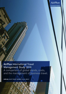 AirPlus International Travel Management Study 2010