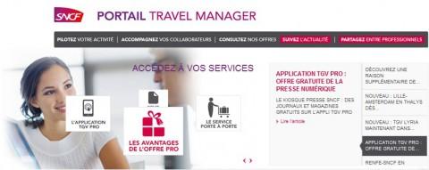 Le portail Travel Manager SNCF : un service sur mesure !