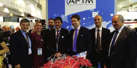 Salon IFTM 2014 - Stand AFTM - La visite du secrétaire d'Etat au Tourisme