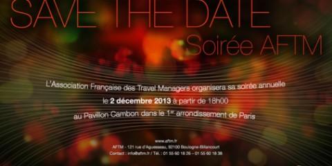 SAVE THE DATE ! Soirée de l'AFTM le 2 décembre 2013