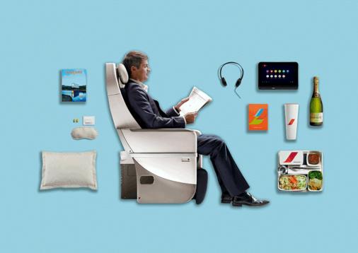 Illustration Air France partenaire de l'AFTM