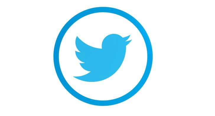 logo twitter circular