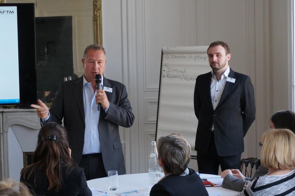Sylvain Carpriaux et Fabien Martre (Idéal Meetings and Events)