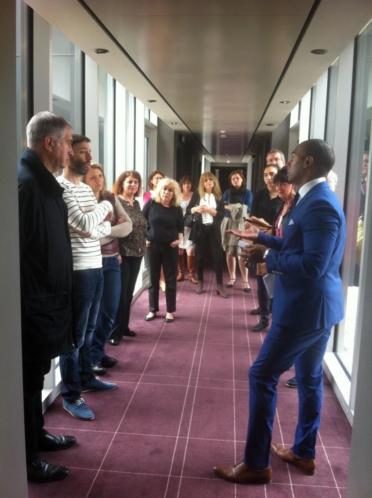 L'AFTM en visite à l'OKKO de Rueil-Malmaison
