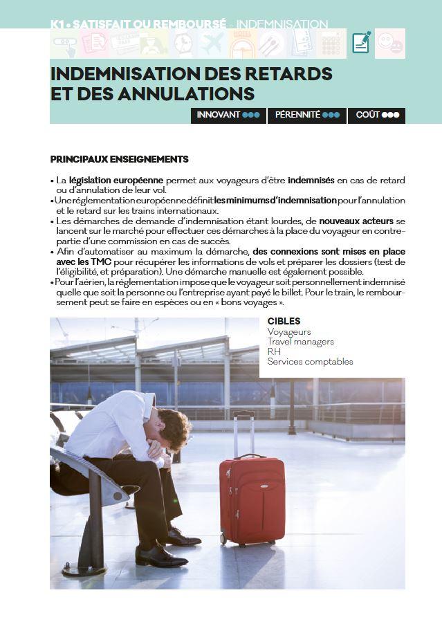 indémnisation des retards - Livre blanc 2016 - AFTM
