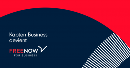 Kapten Business devient FREE NOW for Business