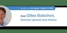 Entretien exclusif avec Gilles Bobichon, Directeur activité Notilus et co-fondateur DIMO Software